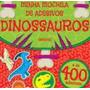 Dinossauros Minha Mochila De Adesivos Girassol