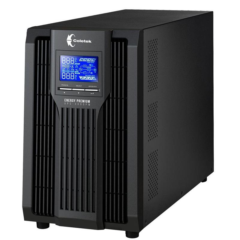 UPS ONLINE 3000VA UPS-3000PM C/6 BAT COLETEK