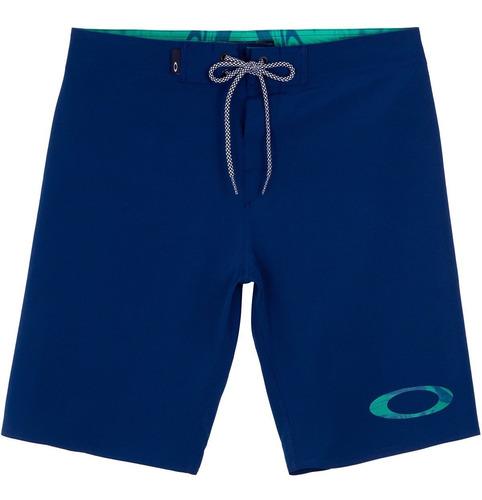 Bermuda Oakley Masculina Água Omni Azul Marinho Original