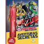 Diário Transformers Robots In Disguise Aventuras Secretas