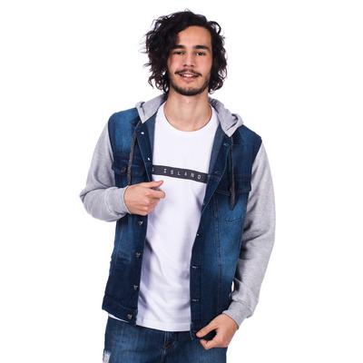 Jaqueta Long Island Jeans/Moletom
