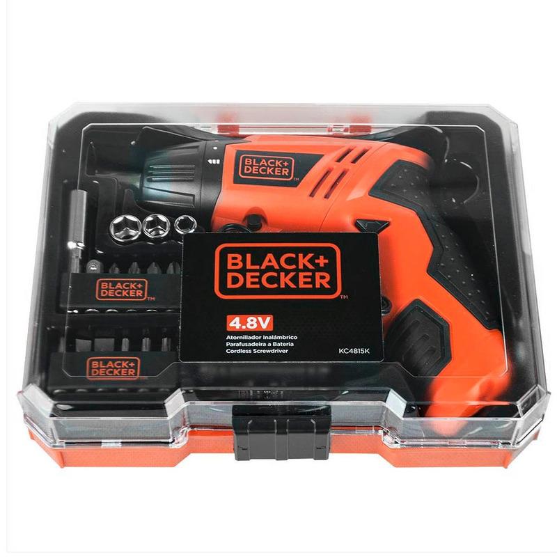 Parafusadeira à Bateria Black+Decker Bivolt e Dobrável - KC4815K