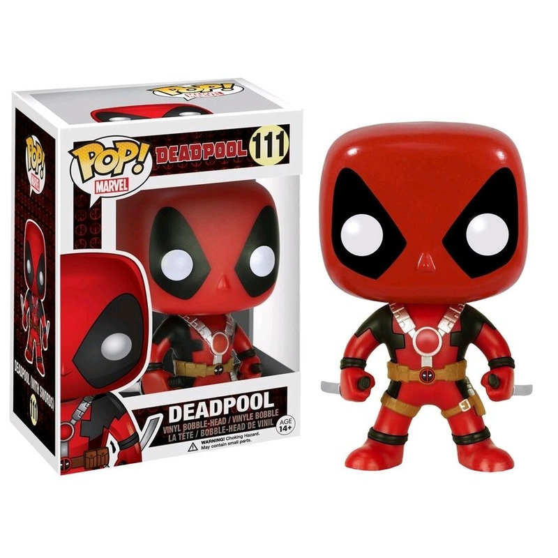 DeadPool Two Swords Pop Funko #111 - Deadpool - Marvel