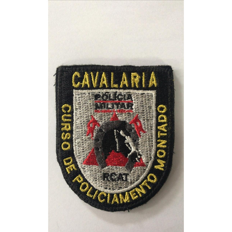 Patch / Distintivo Bordado Cavalaria