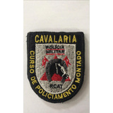 Patch / Distintivo Bordado Cavalaria