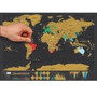 Mapa Map Raspar Raspagem Scratch Map Mundi Mundo Travel Peq
