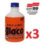Kit 3x Repelente Água Aditivo A 19 Glaco Washer 220ml Soft99