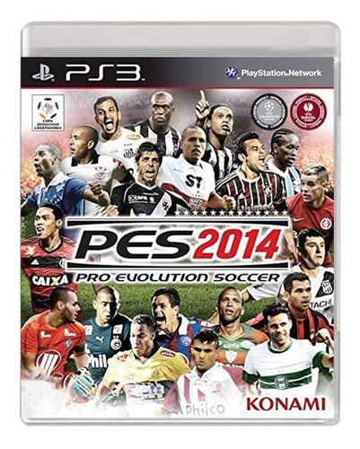 Pro Evolution Soccer 2014 - Pes 14 - Ps3 - Usado - Original