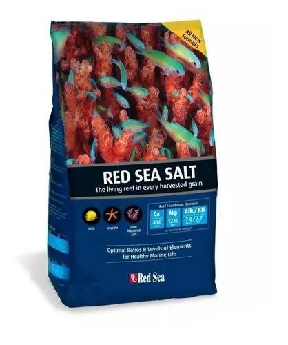 Red Sea Salt 2kg Sal Para Aquário Marinho Corais Reef Coral Original