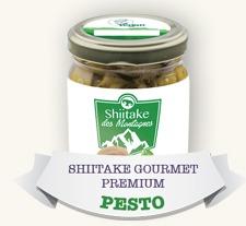 Shiitake Gourmet Premium Pimenta + Pesto (2 Potes)
