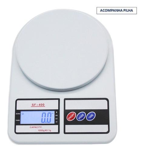 Balança De Precisão Digital Cozinha 10kg Pronta Entrega Original