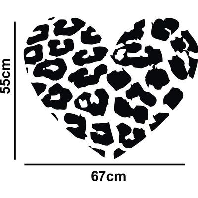 Adesivo Decorativo Parede Casal Amor Coração Romântico em Pato Branco