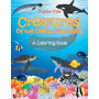 Creatures Of The Deep, Blue Sea (a Coloring Book)