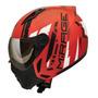 Capacete Moto Peels Mirage Techride C/ Óculos Sol Aviador Custom Preto Fosco Cinza Verde Azul Vermelho