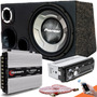 Kit Som Caixa Trio Sub Pioneer Aparelho Bluetooth Taramps