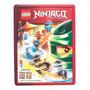 Livro Lego Ninjago Mestres Do Spinjitzu (lata)