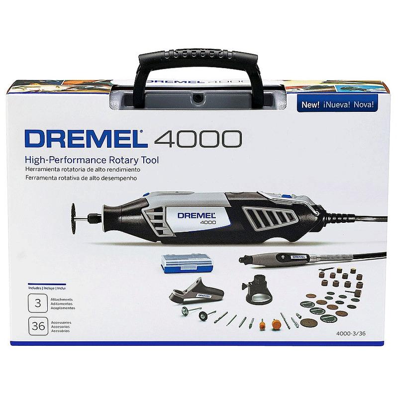 Microrretífica 175W com 36 Acessórios - 4000 3/36 - Dremel - 110 Volts