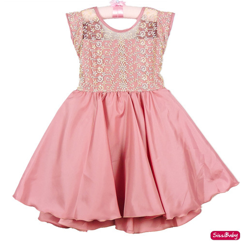 439d39f12e Vestido Festa Infantil Formatura Rose Super Luxo Casamento - SissiBaby