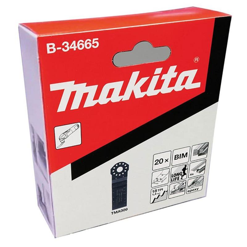 Lâmina de Imersão 28mm x 50mm - B-34665 - Makita