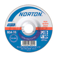 Disco de Corte BDA08 Norton 115,0 x 0,8 x 22,23 mm