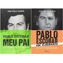 Kit Livros Pablo Escobar Meu Pai Em Flagrante (2 Livros)