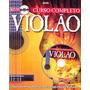Livro Curso Completo De Violão Cd De Áudio Incluido