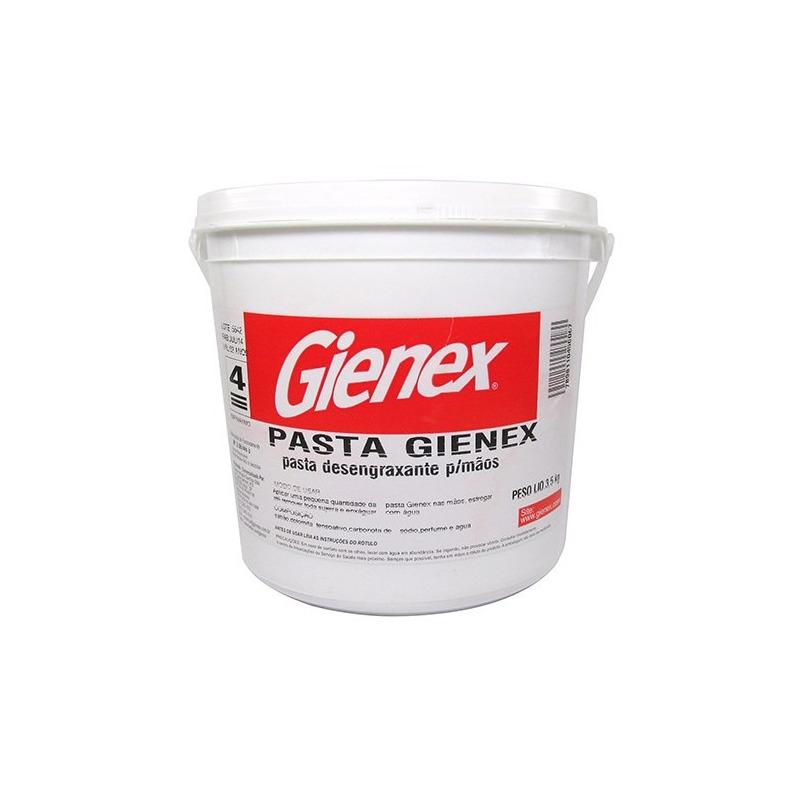 Sabão em pasta desengraxante para mãos 3,5Kg-Gienex