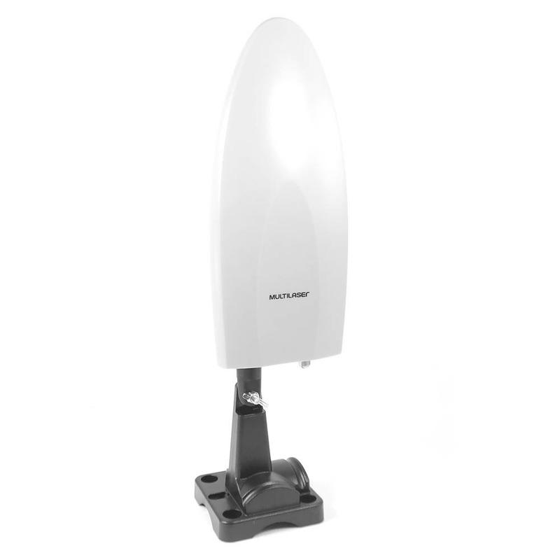 Antena Amplificada  Para Tv 4 em 1 Multilaser - RE214