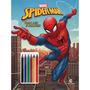 Marvel Ler E Colorir Com Lapis De Cor Spider Man