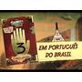Livro Gravity Falls Diário Perdido 3 Original Capa Dura