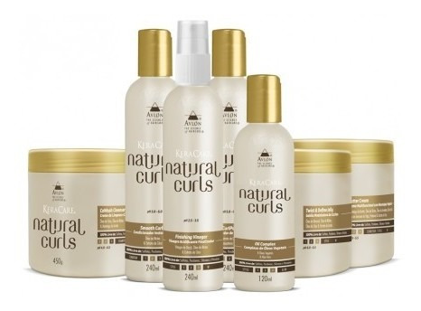 Avlon Natural Curls Kit Grande 7 Itens Sem Sulfatos Parabeno Original
