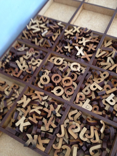 30 Letras Mdf 1 Cm Pronta Entrega Você Escolhe As Letras