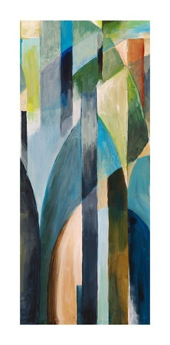 Adesivo Decorativo De Porta - Aquarela - Abstrato - 003mlpt Original