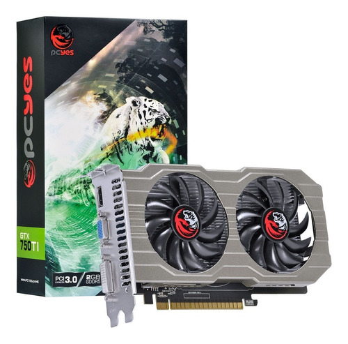 Placa De Video Nvidia Geforce Gtx 750 Ti 2gb Gddr5 128 Bits Original