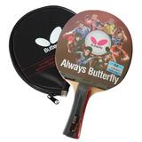 Butterfly Raquete Tenis Mesa Tbc 303 Yuki 2.1mm + Raqueteira