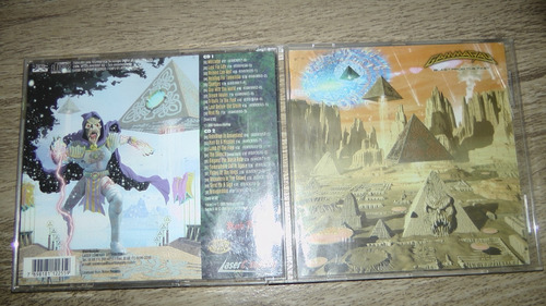 Cd - Gamma Ray - Blast From The Past - Duplo Original