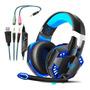 Fone De Ouvido Para Jogos Ps4, Microfone Com Cancelamento De