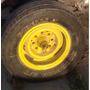 Rodas 8 Furos Aro 16 Jogo Com 4 (pneu Acompanha)