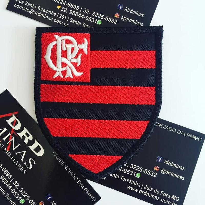 Escudo Do Flamengo Bordado