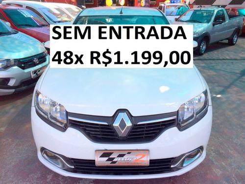 Renault Logan 1.6 Expression - Sem Entrada 48x R$1.199,00