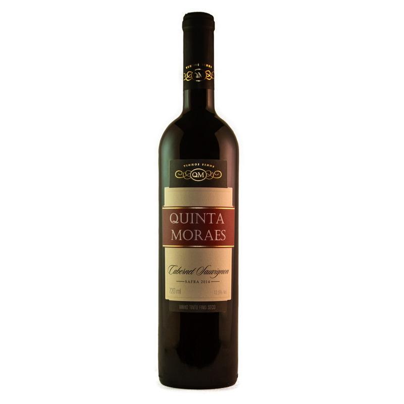 Vinho Fino Tinto Cabernet Sauvignon 720ml - Quinta Moraes