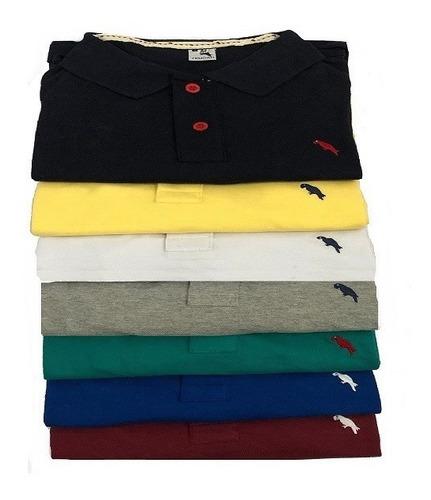 Kit 5 Camisa Gola Polo Pronta Entrega Importada De Marca Original