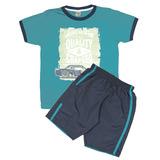 Conjunto Camiseta e Bermuda Fiotty Kids