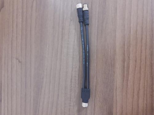 Conector M12 Em Forma De Y Para Conexões Em Série Vf Cy201p0 Original