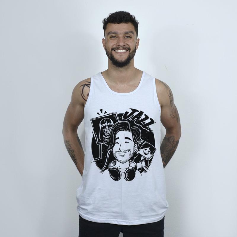 REGATA BRANCA - MUNDO DE JAZZ