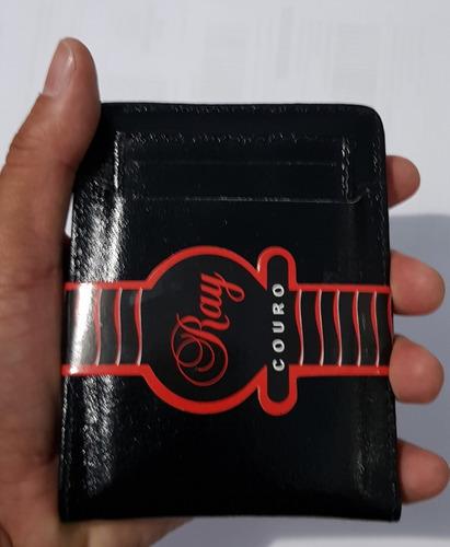 Oferta Dia Dos Namorados Carteira Couro Legítimo 6xs/juros Original