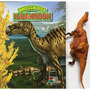 Iguanodon Livro Ilustrado Com Miniatura Articulada