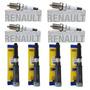 4 Bobinas Jogo Velas Ignição Renault Duster 2.0 16v Flex