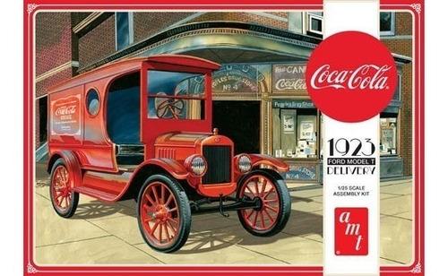 Furgão De Entrega De Coca-cola Ford Modelo T 1923 - 1/25 Amt Original