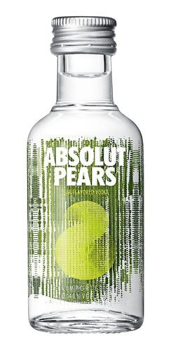 Miniatura Vodka Absolut Pears 50ml Original